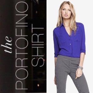Express Grape/ Purple Portofino Shirt